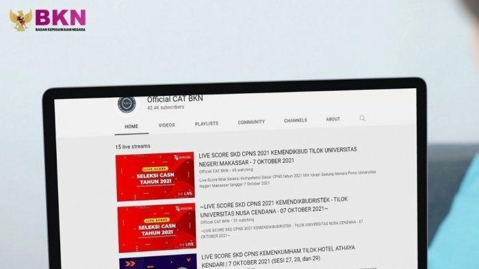 Link Live Score Hasil Tes CAT SKD CPNS 2021 & Jadwal Tes SKB Dilengkapi Materi yang Diujikan
