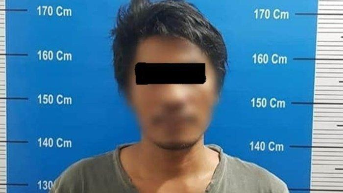 Petugas Satresnarkoba Polresta Palangkaraya Tangkap Pemilik Sepaket Sabu