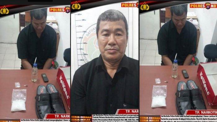 Bawa Sabu 101 Gram Pakai Motor, Pria Sampit, Kotawaringin Timur Ini Tak Beruktik Diringkus Polisi