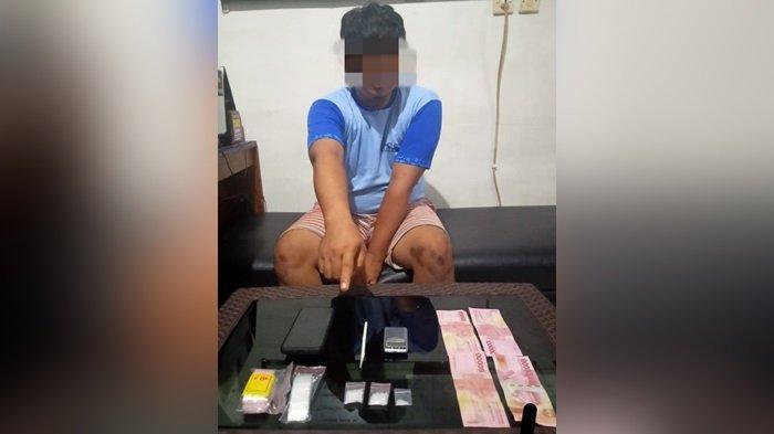 Narkoba di Kotim, Wiraswasta di Sampit Simpan 3 Paket Sabu di Dalam Kamar