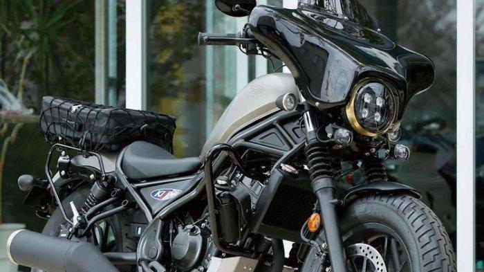 PENAMPAKAN Honda Rebel 500 Ganti Gaya Touring, Mirip Harley-Davidson Tipe Touring