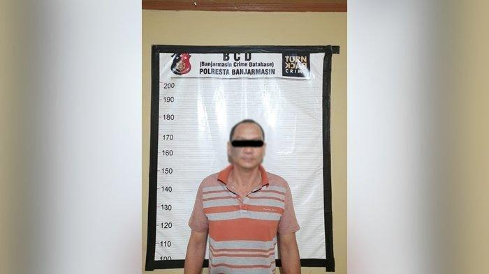 Digerebek Polisi Banjarmasin di Kediaman,  Bule Kedapatan Simpan 11 Paket Sabu