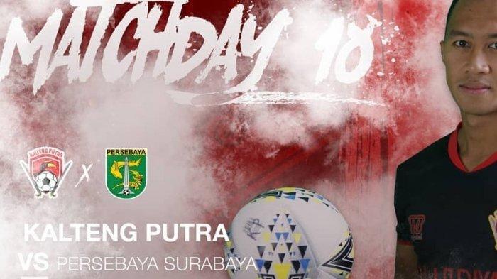 Liga 1 Hari Ini Live Persebaya, Link Live Streaming Indosiar Kalteng Putra vs Persebaya Live Vidio!