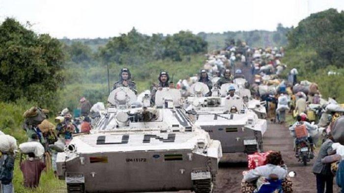 Satu Prajurit Pasukan Perdamaian PBB asal Indonesia Gugur saat Serangan Milisi di RD Kongo
