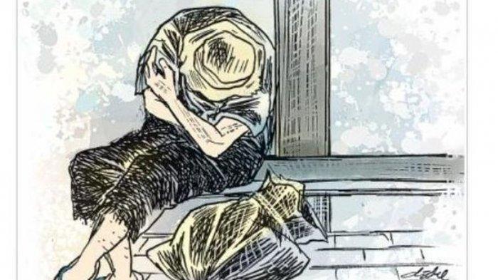 Pria Berkaus Biru Tiba-tiba Tusuk Syekh Ali Jaber Saat Mengisi Pengajian