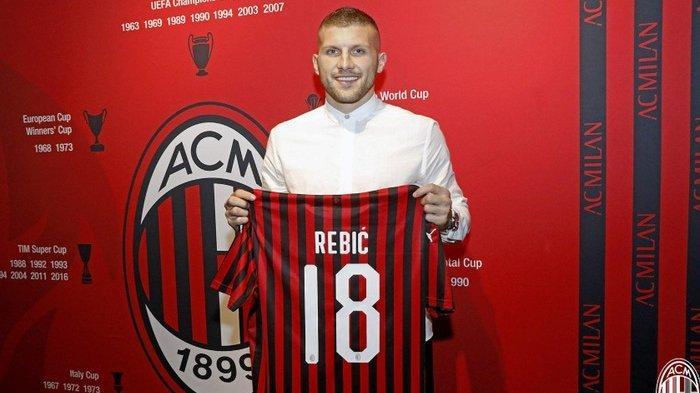 Info AC Milan Terbaru Rekrut Ante Rebic Inter 'Buang' Icardi, Bursa Transfer Liga Italia Hari Ini