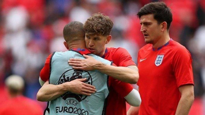 Hasil EURO, Inggris vs Jerman 2-0, Gol Sterling dan Kane Loloskan Skuat Southgate ke Babak 8  Besar