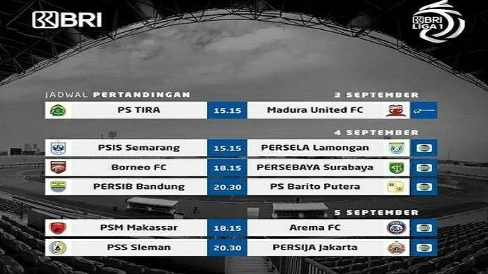 Live Indosiar & Live Streaming Vidio.com, Daftar Pemain PS Tira Persikabo vs Madura United Sore Ini