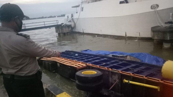 Insiden Truk Terjun ke Sungai, Pelabuhan Trisakti Banjarmasin Bakal Evaluasi Kelayakan Angkutan