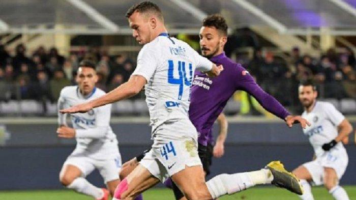 Pekan ke-25 Seri A Liga Italia, Inter Milan Tetap di Posisi Ketiga Usai 3-3 Kontra Fiorentina