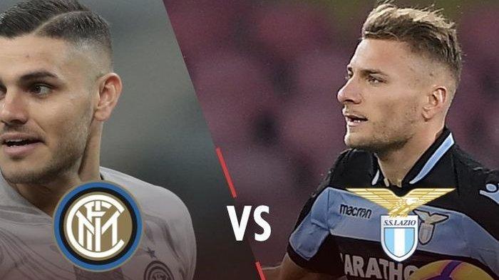 Babak Pertama Berakhir Tanpa Gol Inter Milan Vs Lazio di Coppa Italia