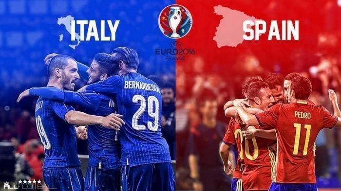Jadwal Semifinal EURO 2020, Prediksi Italia vs Spanyol, Live RCTI Live Streaming Mola TV Malam Ini