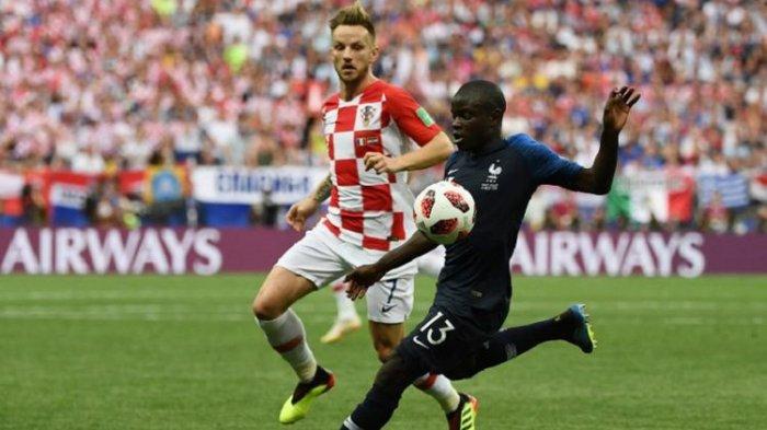 Ini 5 Fakta Menarik Laga Final Piala Dunia 2018, Perancis Vs Kroasia