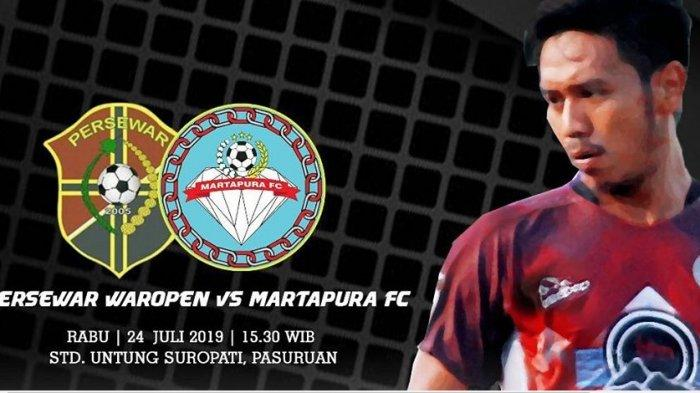 Jadwal Liga 2 Hari Ini, Persewar Waropen vs Martapura FC, Live Streaming TV One Madura FC vs PSIM