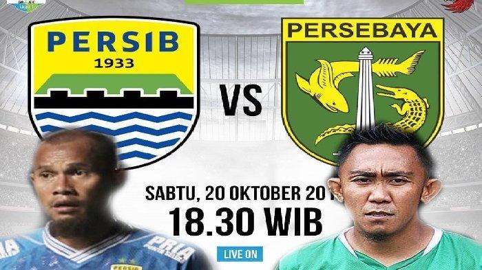 Sedang Berlangsung! Live Persib Bandung vs Persebaya Surabaya Liga 1 2018, Live Streaming Indosiar