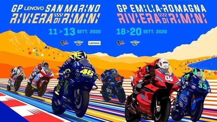 LIVE TRANS7 Jadwal MotoGP San Marino 2020, Race Akhir Pekan 13 September, Rossi & Quartararo Optimis