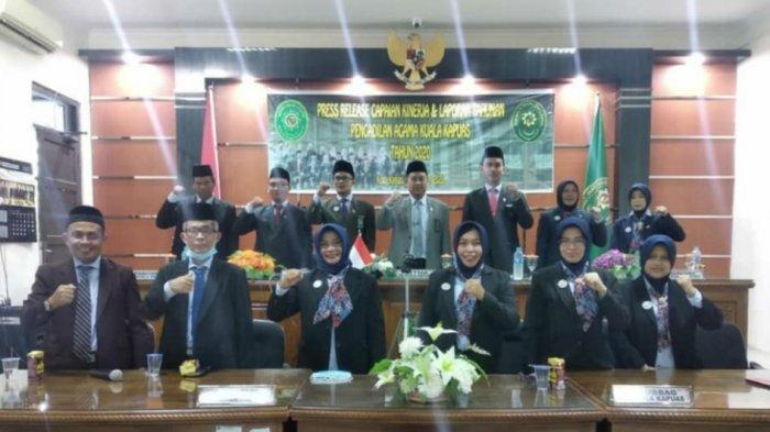Ratusan Perkara Masuk di Pengadilan Agama Kualakapuas Sepanjang 2020