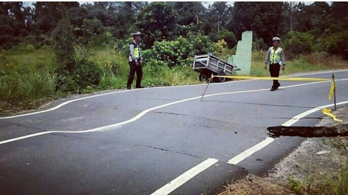 Banyak Jalan Rusak dan Berlubang, Satu Penyebab Tingginya Kecelakaan Lalu Lintas di Kalteng
