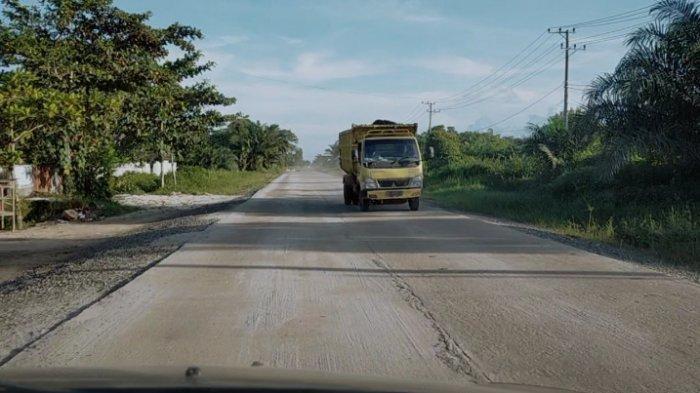 Rencana Perbaikan Jalan Lingkar Selatan Sampit Mulai Dibahas, Truk Angkutan Dibatasi Maksimal 8 Ton