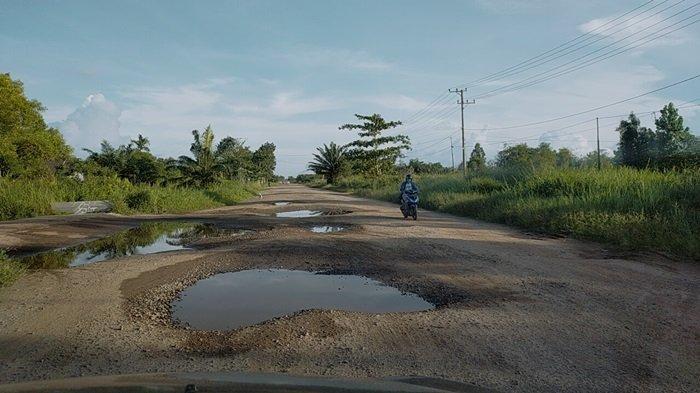 Jalan di Kalteng Banyak Rusak, Gubernur Minta Bupati dan Wali Kota Tertibkan Angkutan Over Kapasitas