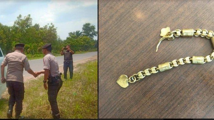 Jambret Gagal Rampas Gelang Emas di Palangkaraya, Korban Terjatuh dari Motor Pelaku Langsung Kabur