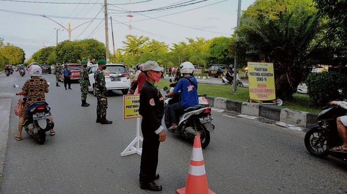 Operasi Yustisi Jelang Malam Tahun Baru Jaring 52 Warga Palangkaraya Kalteng