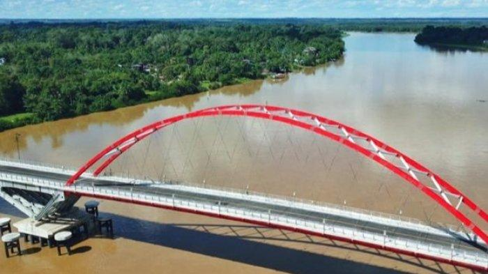 Jembatan Tumbang Samba Kalteng Memudahkan Angkutan Food Estate