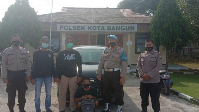 Warga Kota Besi Kabupaten Kotim Kalteng Ini Dibekuk Polisi, Dilaporkan Gelapkan Mobil