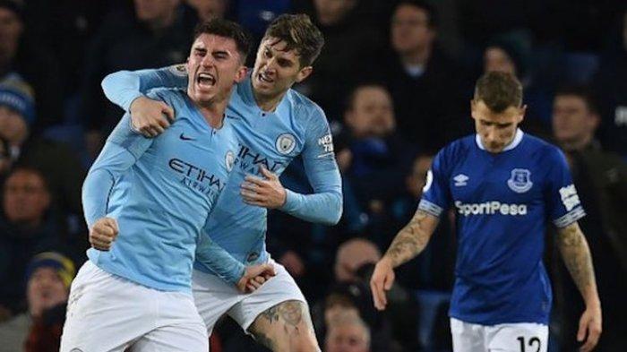 Liga Inggris - Posisi Puncak Liverpool Direbut Manchester City Usai Tekuk Everton 2 Gol Tanpa Balas