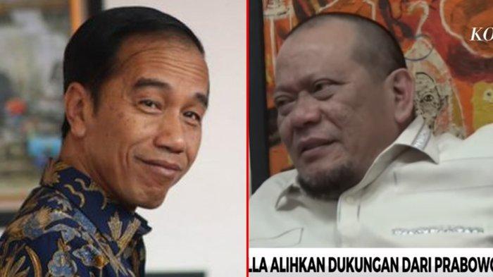 Kecewa Dengan Prabowo, La Nyalla Putar Haluan Dukung Jokowi