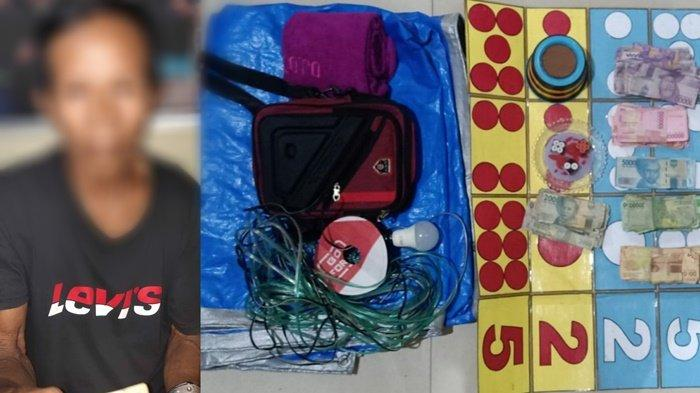 Lakoni Judi Dagur, Lelaki Ini Diamankan Satreskrim Kapuas Kalteng