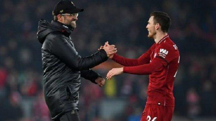 Bek Kiri Liverpool Setuju Juergen Klopp Depak Manchester City Hingga Juara Liga Inggris Musim Ini