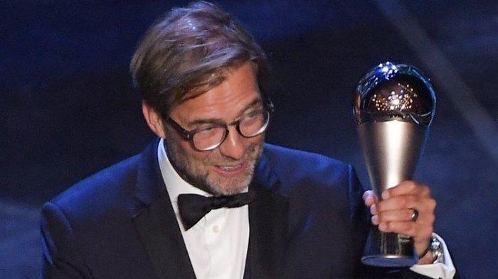 Pelatih Liverpool, Juergen Klopp Terpilih Terbaik Dunia 2019 di Ajang The Best FIFA Football Awards