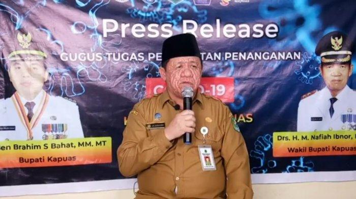 Update Covid-19 Kapuas, Kasus Terkonfirmasi Positif Bertambah Dua Orang