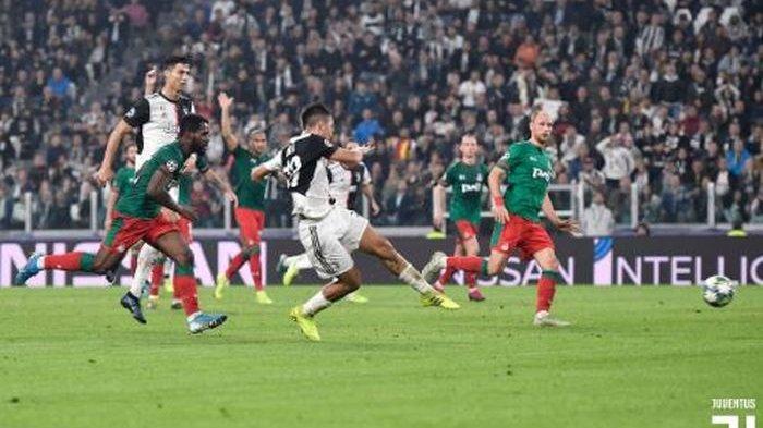 Paulo Dybala Cetak Dua Gol, Juventus Kalahkan Lokomotiv Moskva 2-1 di Grup D Liga Champions