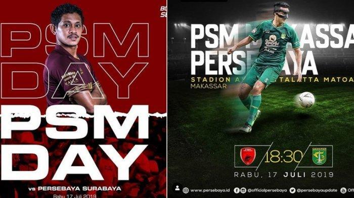 Kabar PSM Makassar Hari Ini, Live Streaming PSM Makassar vs Persebaya Liga 1 di Indosiar & Vidio.com