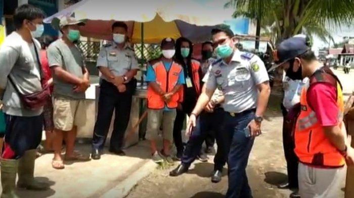 Dishub Palangkaraya Kalteng Tegur PKL Beroperasi di Bahu Jalan