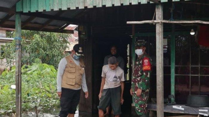Diterjang Banjir, 34 Warga Kampung Pengayuan Banjarbaru Kalsel Mengungsi Akibat Banjir