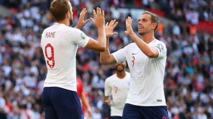 Hasil EURO, Menang telak 4-0 atas Ukraina, Inggris vs Denmark di Semifnal EURO 2020