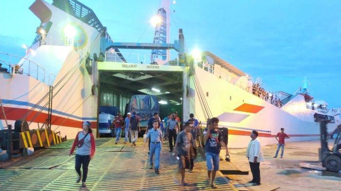 Penumpang Kapal Laut di Banjarmasin Menurun 50 Persen Jelang Pergantian Tahun