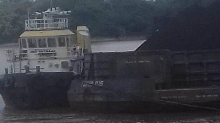Tongkang Batubara Hantam Kapal dan Kelotok di DAS Barito, Ini Pengakuan Nahkoda Tugboat