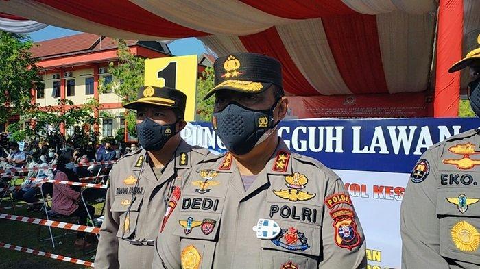 Posko PPKM Jalan Yogyakarta Palangkaraya Jadi Kelurahan Percontohan Bersih Narkoba