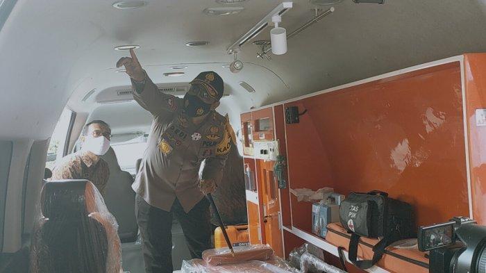 Covid-19 Kalteng Bertambah, Kapolda Tambah Ambulance dan Siapkan Rumah Sakit Darurat