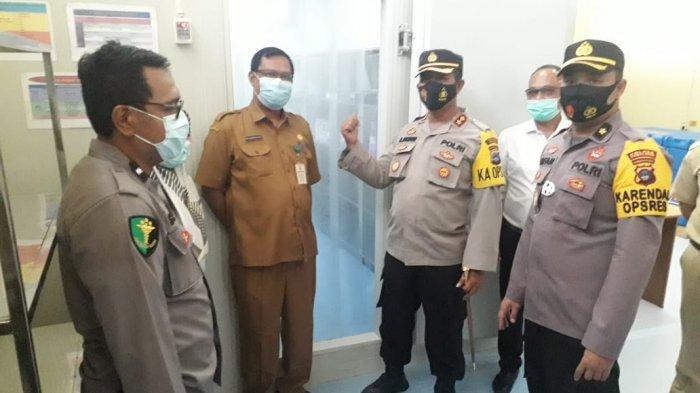Polres Tabalong Siap Bantu Pengamanan Kedatangan dan Penyimpanan Vaksin Covid -19