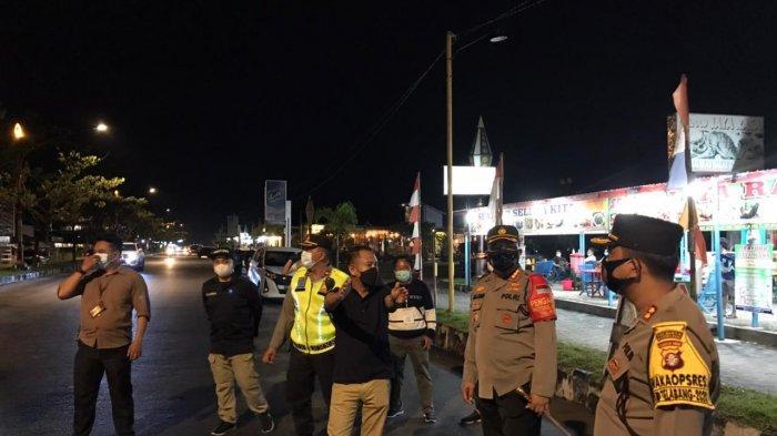 Operasi Yustisi di Palangkaraya Kalteng, Petugas Tutup Sejumlah Kafe Nekat Buka di Atas Jam 10 Malam