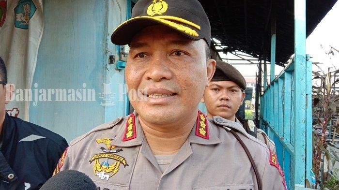 Polisi Selidiki Kebakaran Gedung Kosong GOR Seni FKIP UPR Palangkaraya