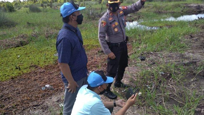 Polsek Pahandut Petakan Kawasan Rawan Kebakaran di Palangkaraya Kalteng
