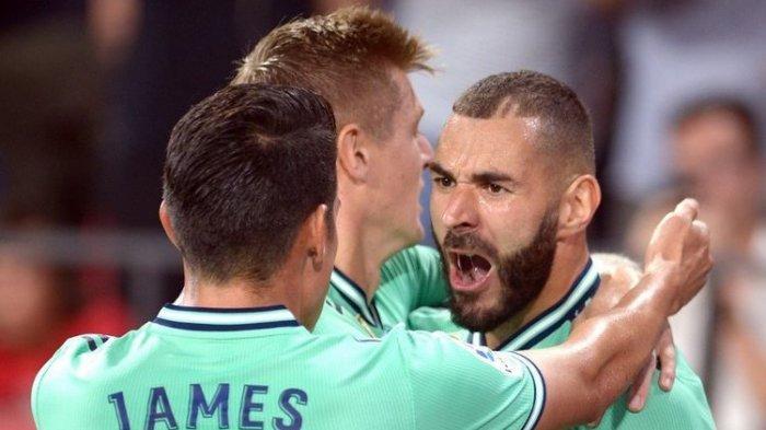 Liga Spanyol Pekan ke-5, Real Madrid Bangkit Kalahkan Tuan Rumah Sevilla, Karim Benzema Cetak Gol
