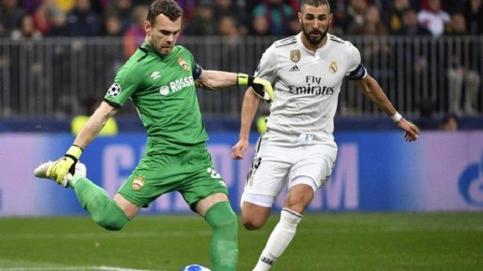Hasil Liga Champion - Sang Juara Bertahan Real Madrid Keok Atas CSKA Moskva