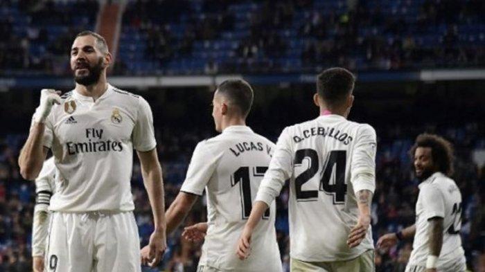 La Liga Spanyol, Los Blancos di Posisi 3 Usai Gol Karim Penentu Kemenangan Real Madrid Kontra Huesca